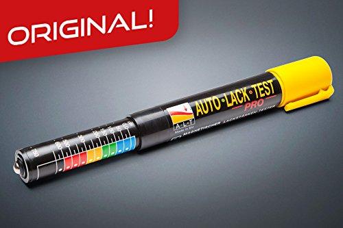 Autolack-Tester PRO - 1er Paket – Das Original – Lacktester / Magnetisches Schichtdickenmessgerät / Spachtel- und Lack-Schichtdicken-Messer / Lackdickenmesser / Autolacktester