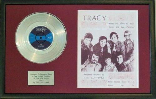 Die Scheibe ManschettenknöPfe-Platinum &Song Noten, Tracy