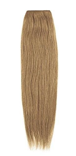 American Dream Remy 100% cheveux humains 35,6 cm soyeuse droite Trame Couleur 7B – Blond chaud