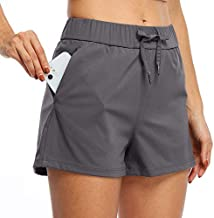 Willit Women's Yoga Lounge Shorts Hiking Active Running Workout Shorts Comfy Travel Casual Shorts with Pockets 2.5