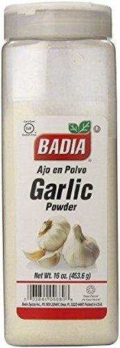 Badia Garlic Powder 453.6g (16oz) - American Import - AJO en Polv