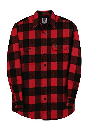 Big and Tall Heavy Duty Brawny Premium Flannel...