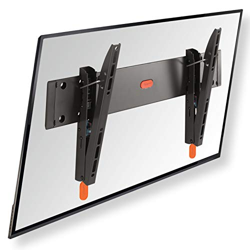 *VOGEL'S BASE 15 M Neigbare TV Wandhalterung für 32-55 Zoll (81-140 cm) Fernseher, Max. 30 kg, Halterung auch fur LCD, LED, QLED und OLED Fernseher, Halter TÜV getestet, VESA 100×100 bis 400×400*