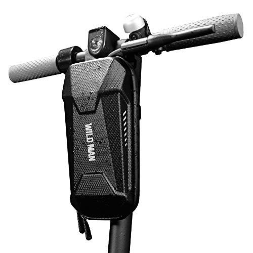 Lixada Fahrrad Lenkertasche,2L wasserdichte Elektroroller Kopfgriff Vorne Aufbewahrungstasche Große Kapazität Roller Vordere Eva-Tasche Kompatibel mit M365,Fahrrad