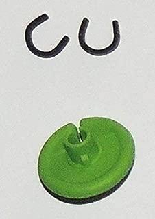 Super Flex Kisser Button - 2 Pack - The Ultimate Bowstring Kisser - Flexible Soft Comfort - 9/16