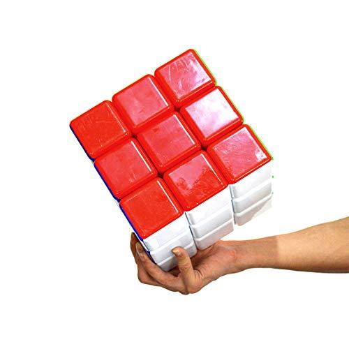 YYBF Gran Tamaño 3X3 Magic Speed Cube Play Durable Puzzle Cube Toy para Niños 3D Puzzle Cube Juguetes para Niños Regalo De Cumpleaños De Navidad,18cm
