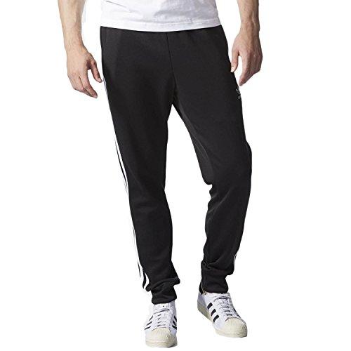 adidas Originals Herren Superstar Cuffed Track Pants Jogginghose, schwarz, X-Groß