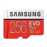 Samsung EVO Plus microSD Card 256GB Memoria Flash MicroSDXC Clase 10 UHS-I - Tarjeta de Memoria (256 GB, MicroSDXC, Clase 10, UHS-I, 100 MB/s)