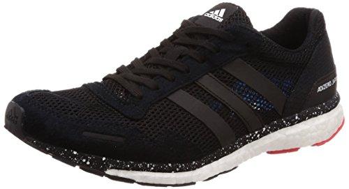 adidas Adizero Adios 3, Scarpe Running Uomo, Rosso (Hirere/Cblack/Brblue Hirere/Cblack/Brblue), 44 2/3 EU