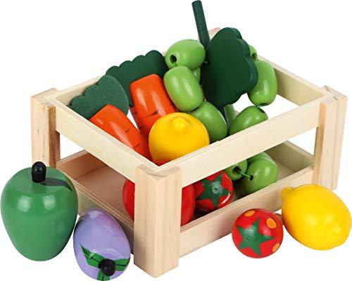 Small Foot 7123 Gemüsekiste aus Holz