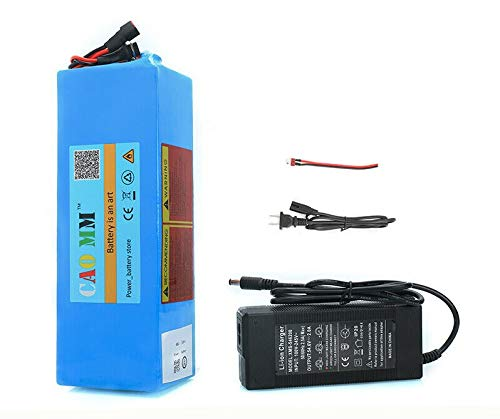 48V Battery 10AH Lithium Battery ebike 10000mAh 20A LiFePo4 Li ion Battery for 250W 500W 700W Motor Electric Bike Bicycle Golf cart Scooter with Charger