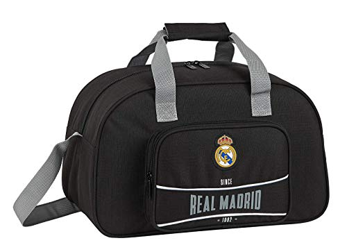 Real Madrid Sporttasche Trainings-Tasche schwarz Sport-Sachen Training Kinder