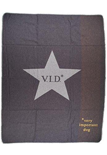 David Fussenegger - Haustierdecke - Decke - V.I.D. - grau - 100 x 140 cm