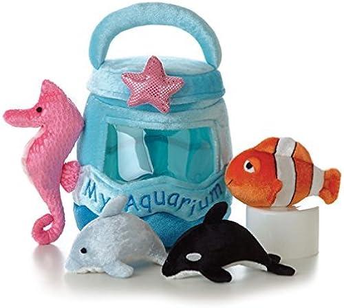 Aurora Plush Baby 6 My Aquarium Carrier with Sound by AURORA