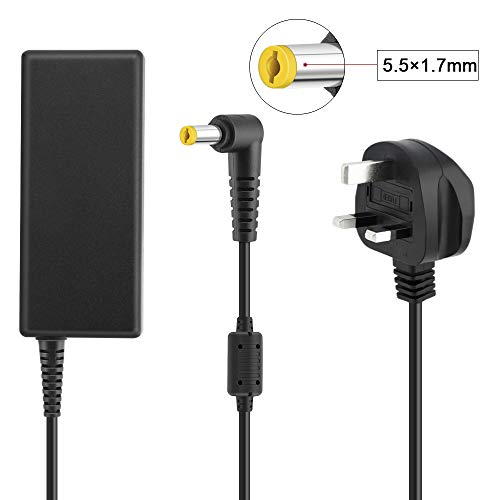 65W Acer Laptop Power Adapter Charger for Acer Aspire Notebook 19V 3.42A Power Cord Connector Size: 5.5 x 1.7mm