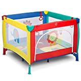DOTMOM Portable Playard Smart Folding Baby Playpen Fence for Babies with Storage Bag
