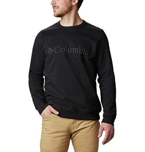 Columbia Męskie logo M Columbia™ Koszulka polarowa M Columbia logo polar Crew Black Puff Logo XL