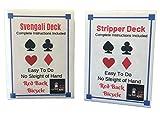 London Magic Works Red Stripper Deck, Red Svengali...