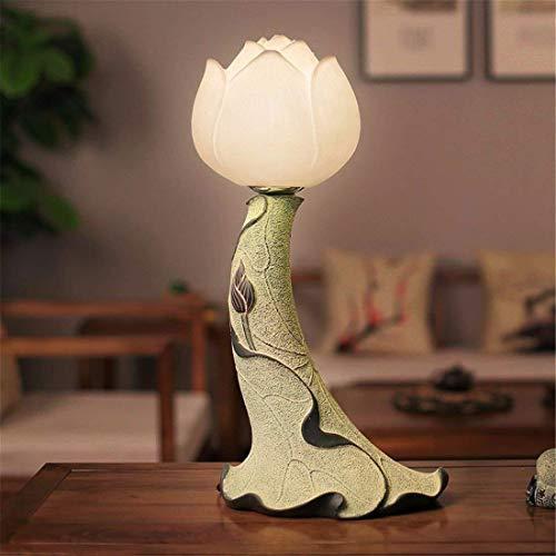 HYY-YY Lámparas de mesa, lámpara de noche moderna, minimalista, dormitorio de estudio, salón, retro, lámparas de mesa, trabajo infantil, lámpara de lectura