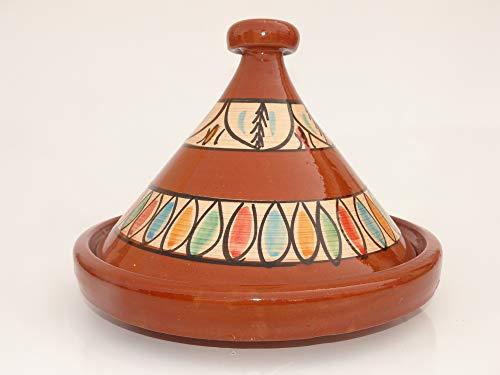 Marokkanische Tajine zum Kochen Ø 35 cm für 3-5 Personen - 905118-000922