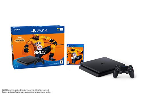 Ensemble PlayStation 4 du jeu NHL 19 Édition Slim - 1