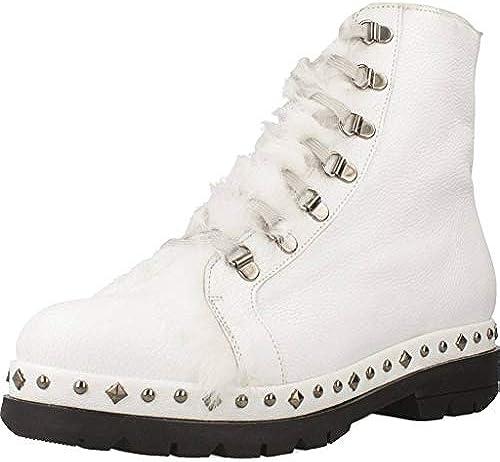 Stiefelleten Quintana Pons Stiefel Damen Weiß 008 7191