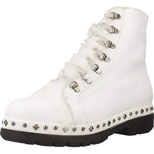 Pons quintana Stiefelleten/Boots Damen, Farbe Weiß, Marke, Modell Stiefelleten/Boots Damen 7191 008 Weiß