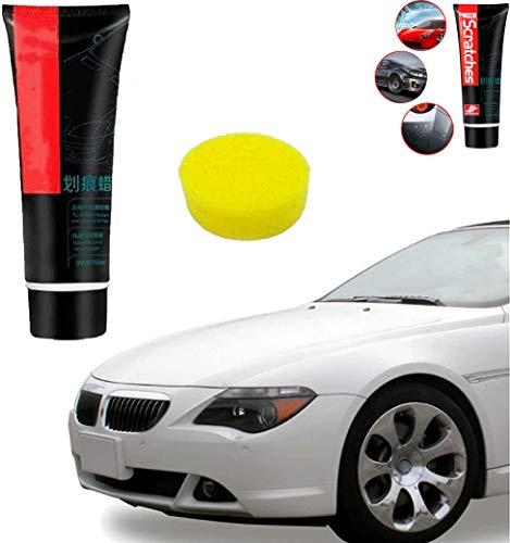 Car scratch repair wax paint Sponge paint repair kit New version 100ml scratch paint Suitable for seamless surface, paint, metal, plastic, glass scratch repair