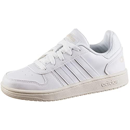 adidas Hoops 2.0 K, Zapatillas, FTWBLA/FTWBLA/BLAMAR, 34 EU