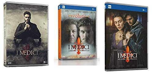 I Medici - Stagioni 1 -3 (12 DVD) - ITALIANI ORIGINALI SIGILLATI COFANETTI SINGOLI -