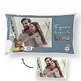 Fotoprix Cojín Personalizado con Foto para Papá   Regalo Original día del Padre   Varios diseños Disponibles (Día del Padre 1, 30 x 50 cms)