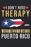 Computadora portátil: Cuaderno en blanco con tapa de vacaciones en Puerto Rico  120 páginas rayadas  Tapa blanda  Formato A5  perfecto para notas, textos, grabaciones, etc.