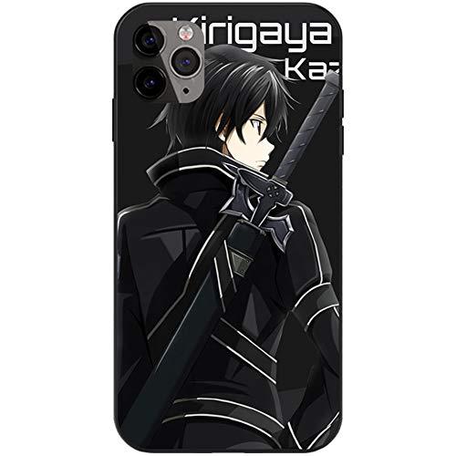 FDSVCSXV Caja de Anime de Silicona Compatible con iPhone 12/12 Pro, Tapa de teléfono de Silicona para iPhone XR (iPhone All Series),A,iPhone 6