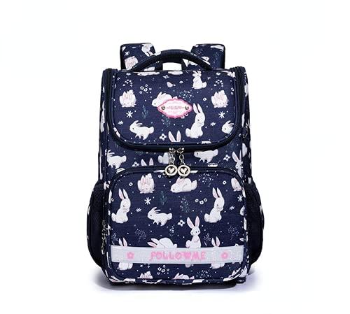 MINGPAI Mochila de la mochila de la mochila de los niños de la fan mochila impermeable de la historieta linda (3,44 * 32 * 16cm)