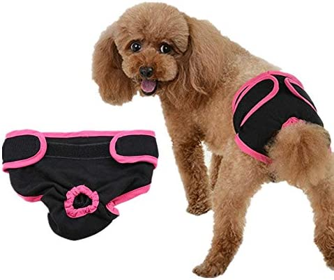 Reusable Female Dog Diapers Dog Nappies Pet Physiological Pants Dog Cotton Pants Puppy Underwear product image