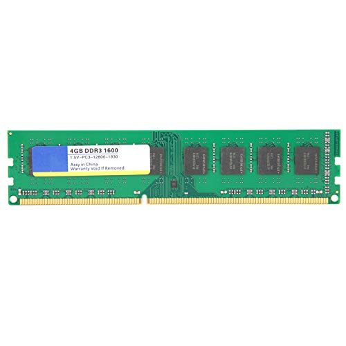 Goshyda Módulo de Memoria para computadora de Escritorio, DDR3 4GB 1600Mhz PC3‑12800 1.5V 240PIN, para AMD 3-Generation