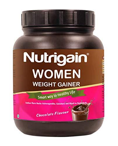 Nutrigain Women Weight Gainer Powder - 400 Gm (Chocolate Flavour)