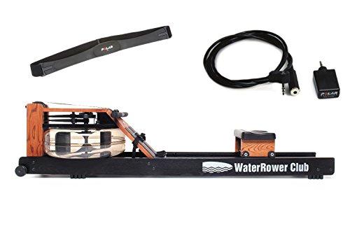 WaterRower Rudergerät Club-Sport S4 mit Cardio-Set, 150S4