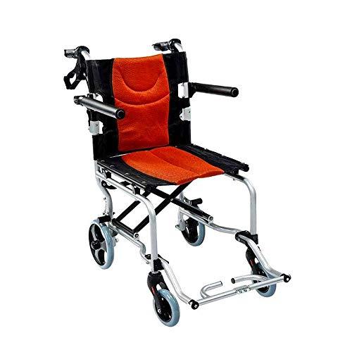 Silla de Ruedas portátil Plegable Drive Medical Adecuado para discapacitados, Ancianos, Pacientes en rehabilitación Ligero Plegable Cómodo apoyabrazos Respaldos Ultraligero