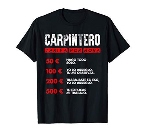 Tarifa por hora de Carpintero - divertido Camiseta