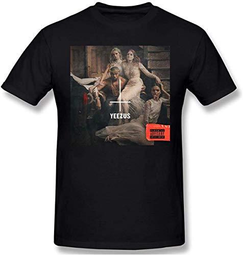 Kanye West Yeezy Shirt Man's Cotton Short Sleeve Tshirts