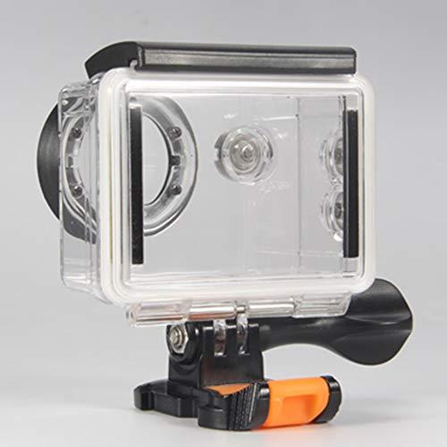 Yangxue Caso impermeable de la cámara de acción uso de la fotografía con filtro rojo accesorios durable proteger deporte al aire libre carcasa transparente bajo el agua para EKEN H9R