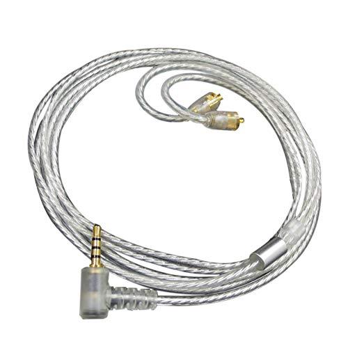 Haodasi Ersatz MMCX Schnittstelle mit symmetrischem 2,5mm Kabel für SE215 SE535 Logitech UE900 COWON PLENUE S FiiO X5 III