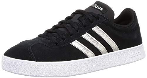 adidas Vl Court 2.0 - Zapatillas de fitness para mujer, color gris, color Negro, talla 42 EU
