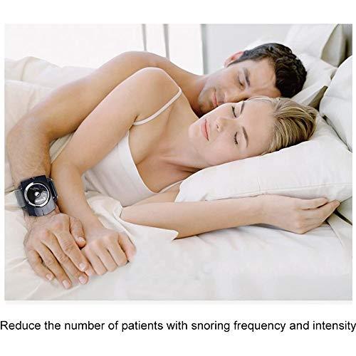 MQSS Anti Schnarch Uhr, Geräte mit Biofeedback-Sensor Nicht-invasive Lösung für Ihre Schnarchprobleme bei Männern und Frauen stoppen Intelligente Armbanduhr4PCS