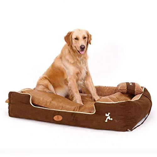 Q-HL Cama para Perros Nido de Mascotas Grandes Totalmente extraíble y Lavable para una Amplia Gama de Mascotas (Size : S)