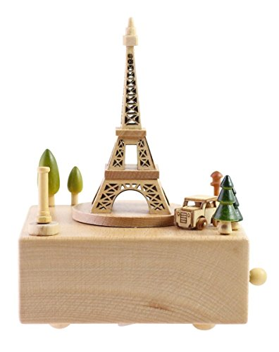 Delightful Quality Wooden Musical Box Featuring Iconic...