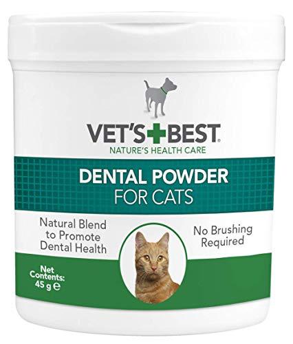 Vet's Best Dental Powder für Katzen - 45 g