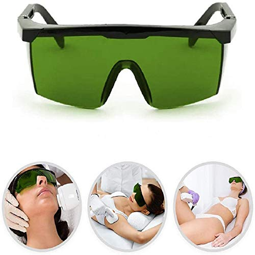 Eyewear Protective Safety Glasses, Bed Goggles Eye Protection UV Laser Protective Glasses IPL Beauty Equipment Glasses for Doctors Nurses and Laser Technicians
