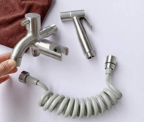 YYONGAO para el Lavado Lavable bidé Handheld pañal de Tela Pulverizador - 304 Acero Inoxidable Lavadora Pistola de pulverización Conjunto Culo Ducha
